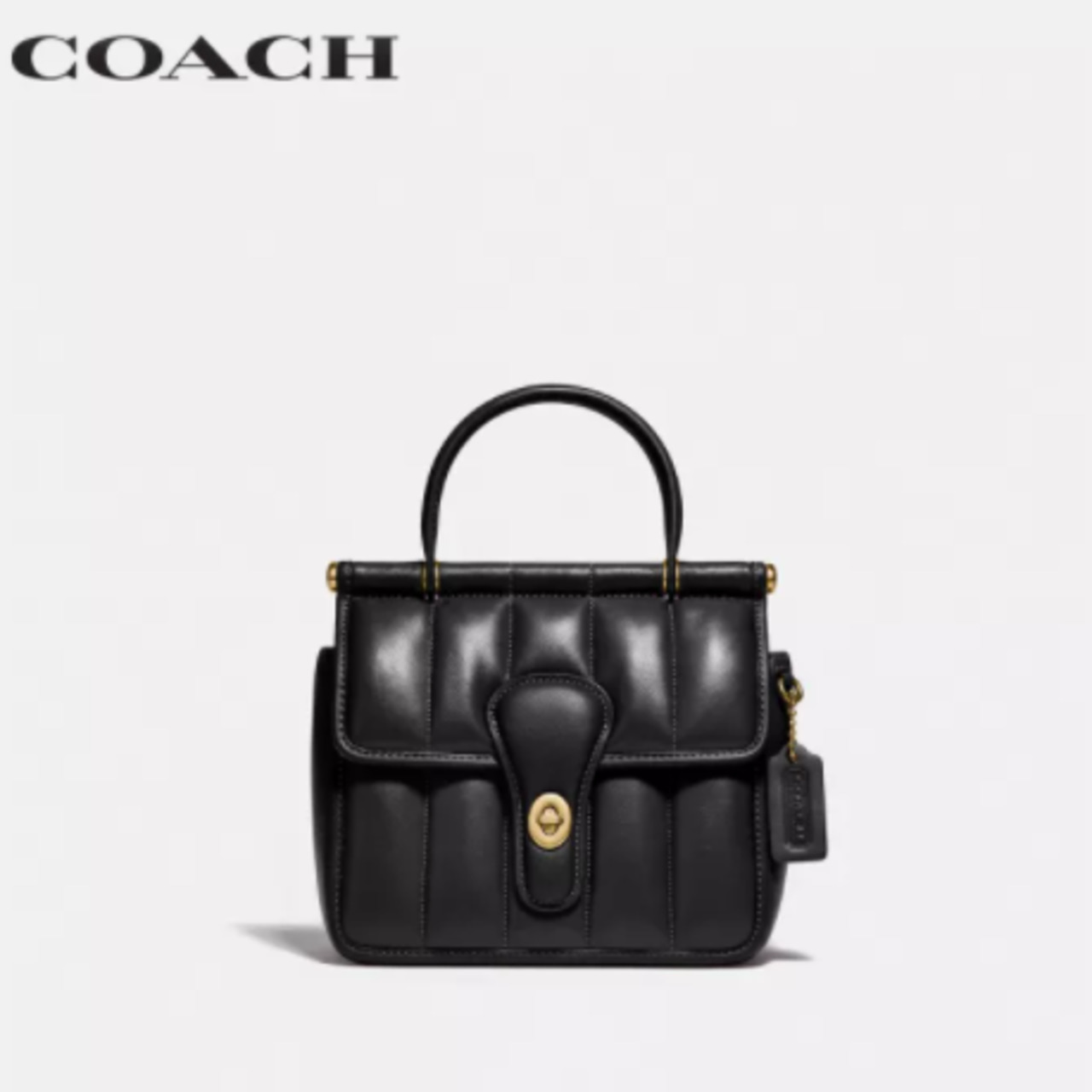 COACH WOMENS WILLIS TOP HANDLE 18 WITH QUILTING