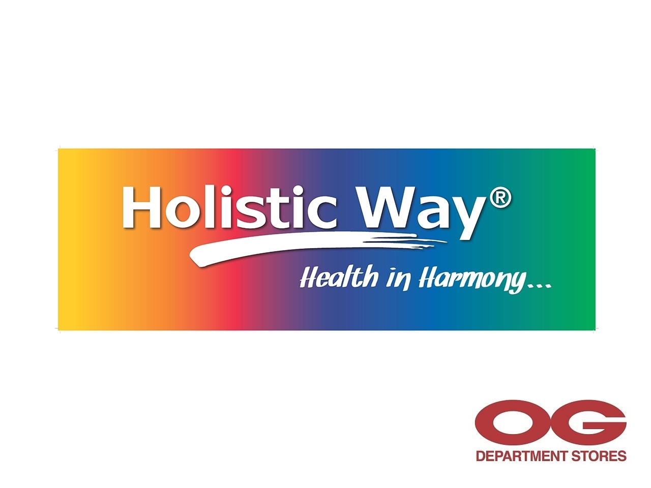 HOLISTIC WAY All Regular-Priced Items @ 30% off