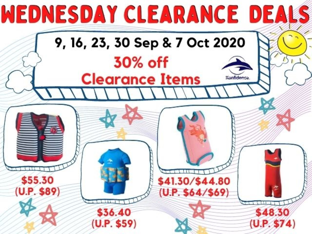 Every Wed 9,16,23,30 Sept and 7 Oct Deal: The Konfidence Clearance Best Buys at 30% Off! (RRP $64-89)