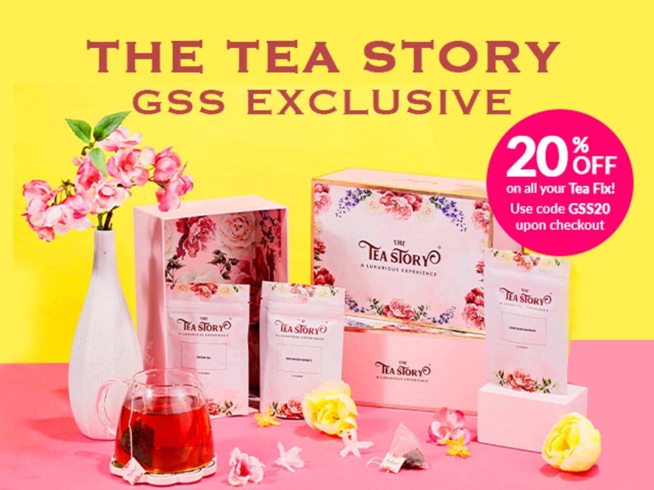 THE TEA STORY GSS EXCLUSIVE DEAL