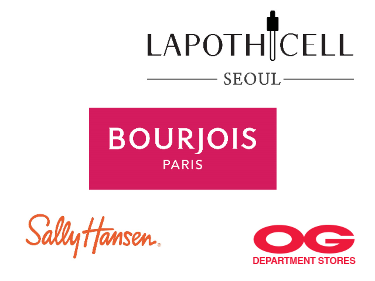 LAPOTHICELL / BOURJOIS / SALLY HANSEN All Regular-Priced Cosmetics @ 30% off