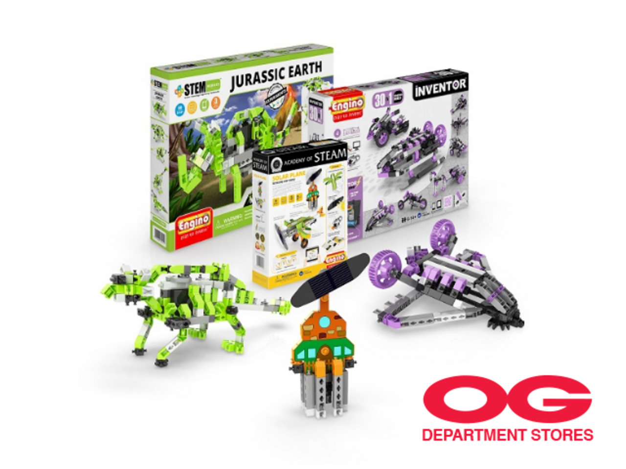 ENGINO Assorted Construction Kits @ Choose any 2 and get the lower-priced item free!