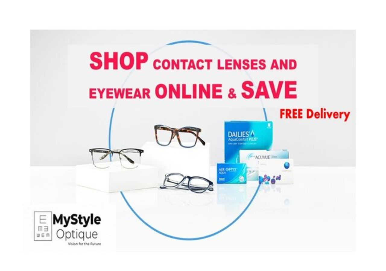 [MyStyle Optique] Online optical store for Contact Lenses, Spectacle, Eyewear and Eyeglasses