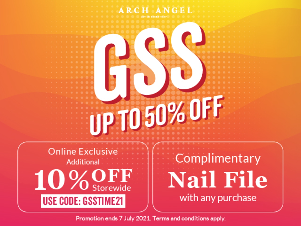 Spend GSS with Arch Angel and get 10% off storewide!