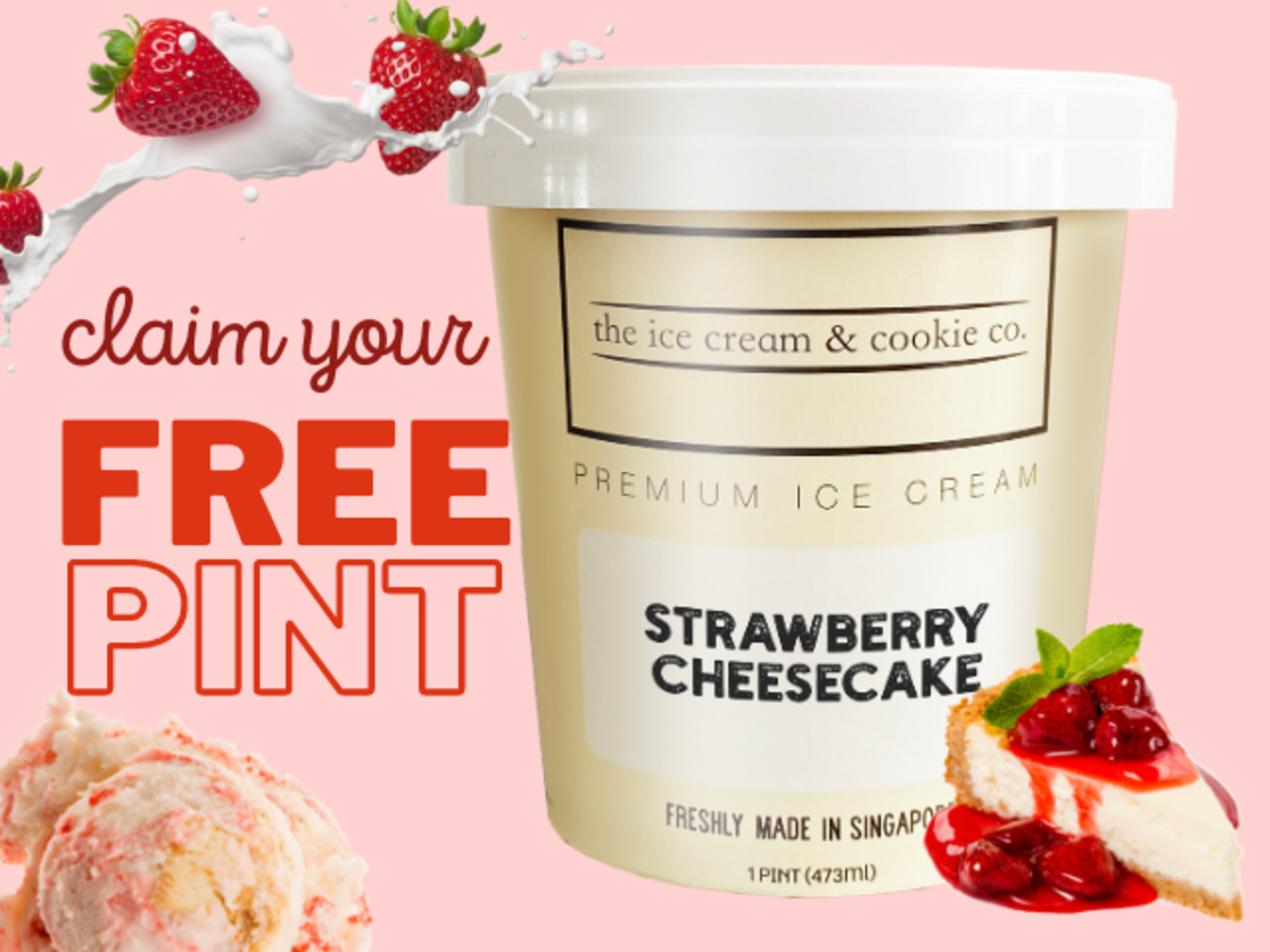 FREE National Day ice cream pint with any spend of $40!